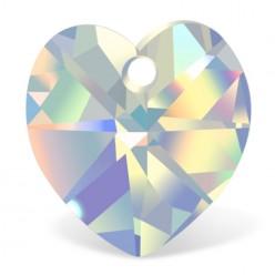 HEART 3pcs 18 MM CRYSTAL AB-PRECIOSA sale online, best price