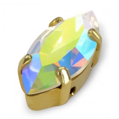 SHUTTLE MM15x7 CRYSTAL AB gold-3pcs sale online, best price