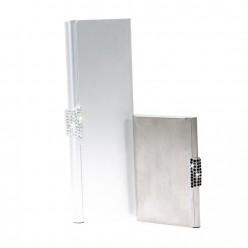Kit d'affaires en aluminium avec Strass Meilleur Prix
