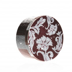 Floral hatbox with Rhinestones sale online, best price