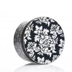 Damask hatbox with Rhinestones sale online, best price