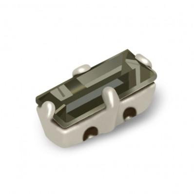 MM7x3 BLACK DIAMOND BAGUETTE silver-5pcs sale online, best price