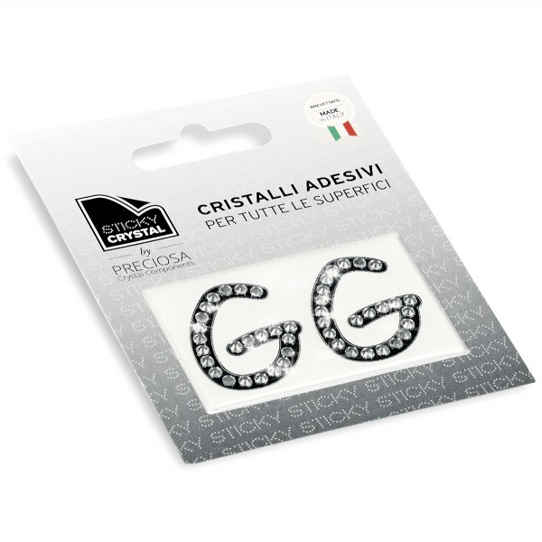 STICKY CRYSTAL COLLECTION LETTER G sale online, best price