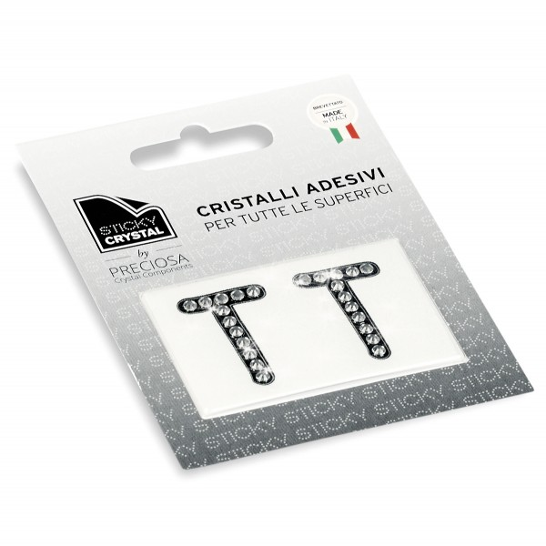 STICKY CRYSTAL COLLECTION LETTER T sale online, best price