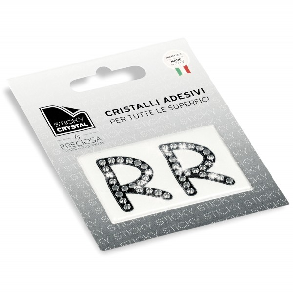 STICKY CRYSTAL COLLECTION LETTER R sale online, best price