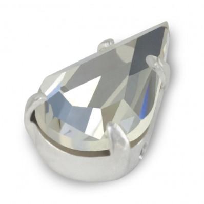 CRYSTAL DROP MM13x8 silver-5pcs sale online, best price