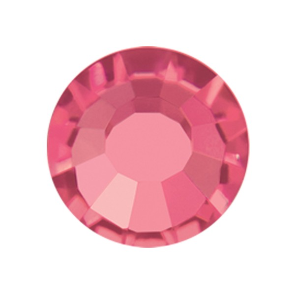 PRECIOSA THERMOADHESIVE SS20 (5 mm) INDIAN PINK-Pack of 144
