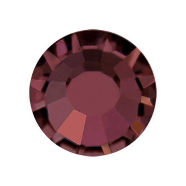 PRECIOSA THERMOADHESIVE SS30 (6, 5 mm) BURGUNDY-Pack of 144
