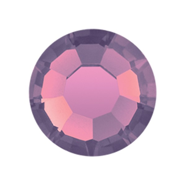 PRECIOSA THERMOADHESIVE SS16 (4 mm) AMETHYST OPAL-Pack of 144