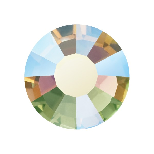 PRECIOSA THERMOADHESIVE SS16 (4 mm) CHRYSOLITE OPAL AB-Pack of