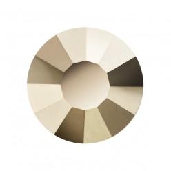 PRECIOSA THERMOADHESIVE SS30 (6, 5 mm) STARLIGHT GOLD-Pack of