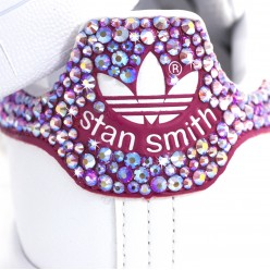Adisas Stan Smith Pink avec Strass Preciosa Meilleur Prix