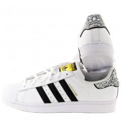 Adidas Super Star Strass 3 Stripes Noir Meilleur Prix