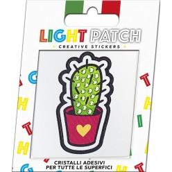 Light Peridot Crystal Sticker Cactus Patch sale online, best