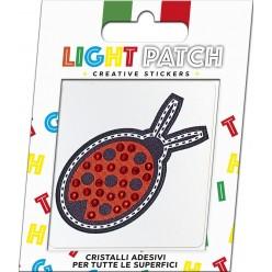 Light Patch Ladybug Sticker Cristaux rouges Meilleur Prix