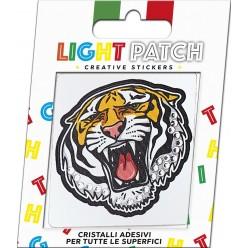 Light Crystal Tiger Sticker Patch sale online, best price