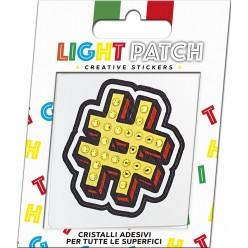 Light Patch Hashtag Sticker Cristaux Citrine Meilleur Prix