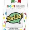 Light Citrine Crystals Hello Sticker Patch sale online, best