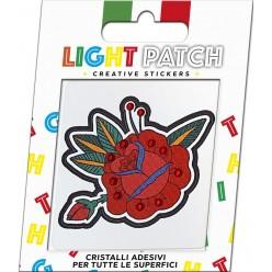 Light Patch Pink Sticker Cristaux de siam légers Meilleur Prix