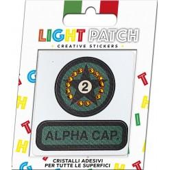 Light Patch Military Star Sticker Cristaux Light Topaz Meilleur