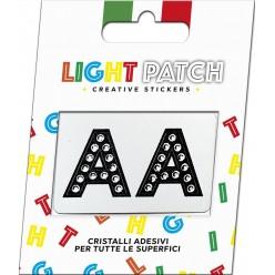 Light Patch Letters AA Sticker Cristaux Black Cry Meilleur Prix