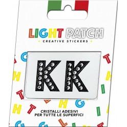 Lettres de patch léger KK Sticker Crystals Black Cry Meilleur