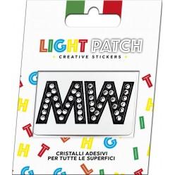 Light Patch Letters MM Sticker Cristaux Black Cry Meilleur Prix