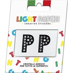 Light Patch Letters PP Sticker Cristaux noirs Cry Meilleur Prix