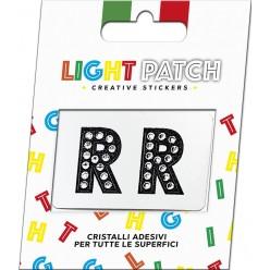 Light Patch Letters RR Sticker Cristaux Black Cry Meilleur Prix