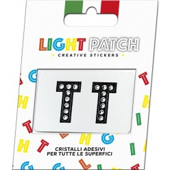 Light Patch Black Crystals Cry TT Sticker Letters sale online