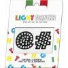 Light Patch Black Crystals Cry Sticker Symbols sale online