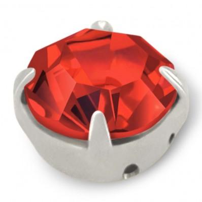 RHINESTONE MAXIMA SS40 LIGHT SIAM silver-20pcs sale online