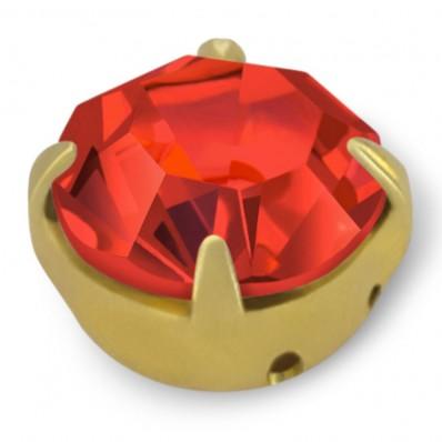 RHINESTONE MAXIMA SS40 LIGHT SIAM-gold-20pcs sale online, best