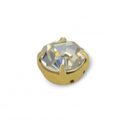 RHINESTONES SS20 CRYSTAL-gold-40PZ MAXIMA