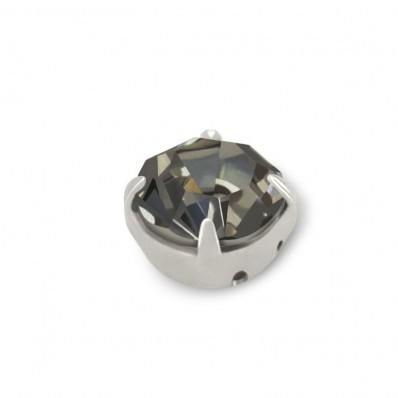 RHINESTONES SS20 BLACK DIAMOND-silver-40PZ MAXIMA sale online