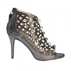 Talon cage de conception de chaussures 10