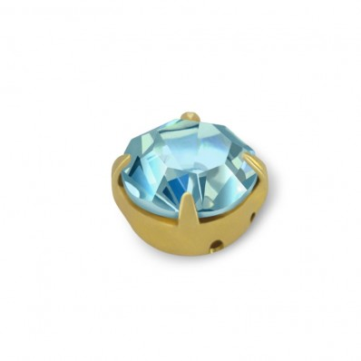 RHINESTONE MAXIMA SS20 AQUAMARINE-gold-40PZ sale online, best