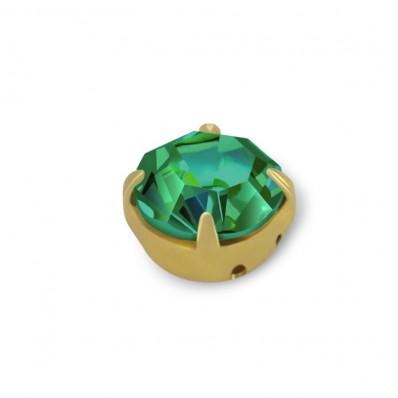 RHINESTONE MAXIMA SS20 EMERALD gold-40PZ sale online, best price