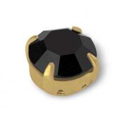 RHINESTONE MAXIMA SS30 black-gold-20pcs sale online, best price