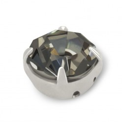 RHINESTONE MAXIMA SS30 BLACK DIAMOND-silver-20pcs sale online