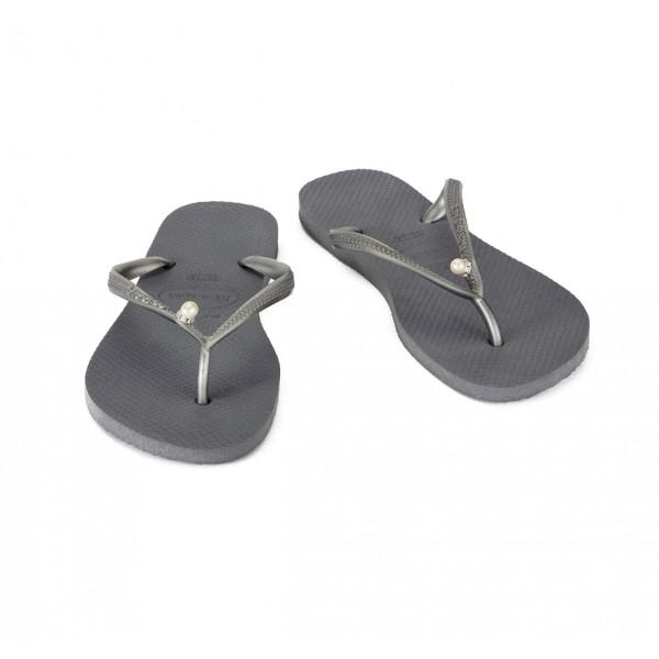 Havaianas Thongs Silver Slim Pearl sale online, best price