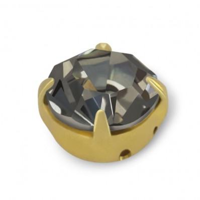 RHINESTONE MAXIMA SS30 BLACK DIAMOND-gold-20pcs sale online