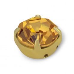 RHINESTONE MAXIMA SS30 LIGHT COL. TOPAZ gold-20pcs sale online