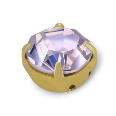 RHINESTONE ROUND SS30 VIOLET-gold-20pcs sale online, best price
