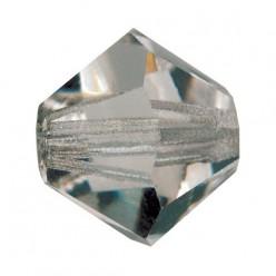 PRECIOSA BICONES MM4 BLACK DIAMOND-Pack of 144 sale online