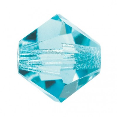 PRECIOSA BICONES MM4 WATER BOHEMICA-Pack of 144 sale online