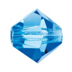 PRECIOSA BICONES MM4 SAPPHIRE-Pack of 144 sale online, best