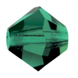 PRECIOSA BICONES MM4 GREEN TURMALINE-Pack of 144 sale online