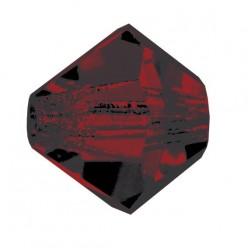 BICONE GARNET PRECIOSA MM4-Pack of 144