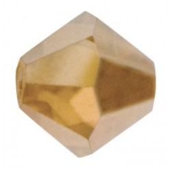 PRECIOSA BICONES MM4 GOLDEN FLARE-Pack of 144